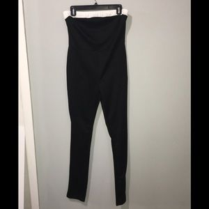 PIAO LIANG FU SHI clubwear Black tight jumpsuit
